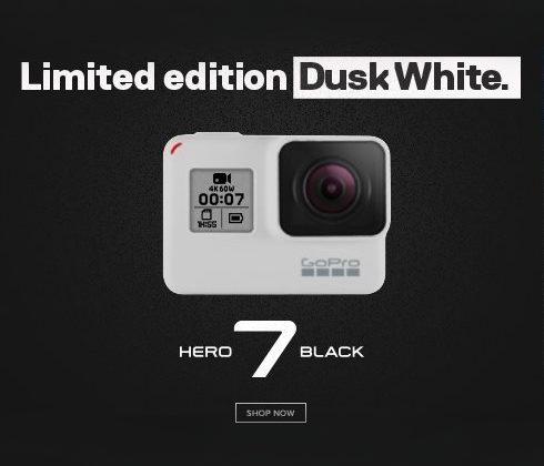 Gopro 7 Black Dusk White - Limited Edition